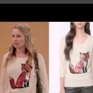 Cooperative urban outfitters foxy sweater S